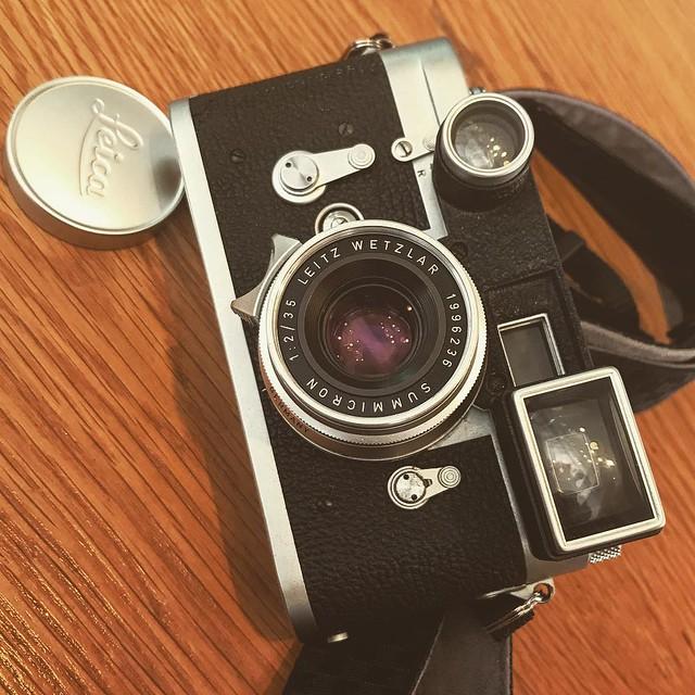 Leica M3 x 眼鏡八妹 街拍