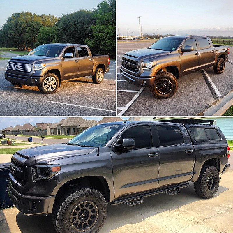 Before during after Tundra by IG​ ​nickrod850 | Toytec Lifts