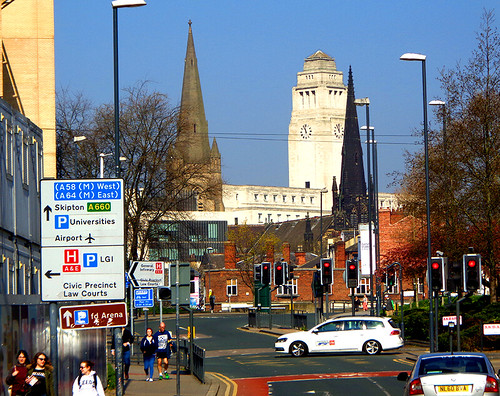 University Area - Parkinson Bldg and churches | by worldtravelimages.net