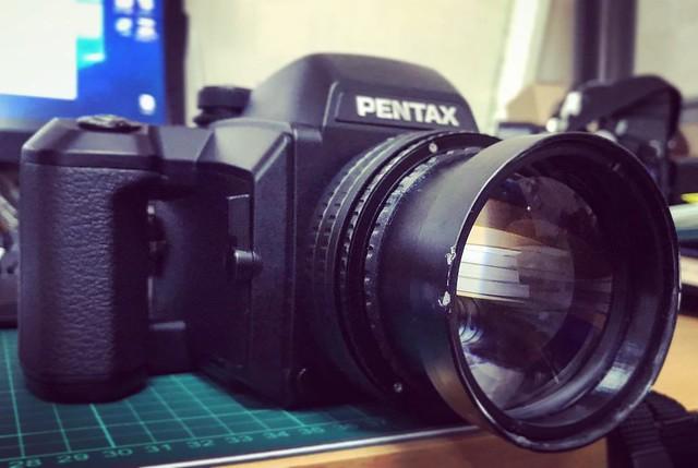 Contax 135mm f2 AEG 真645片幅菲林感覺