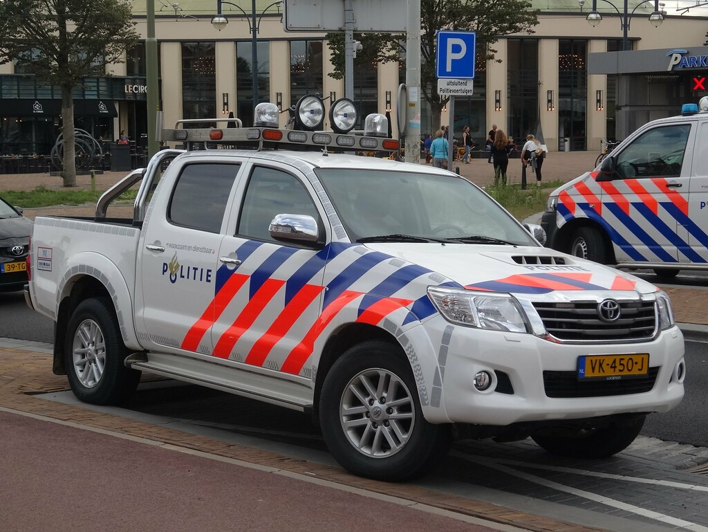 2014 Toyota Hilux Politie At The Moment Most Police Cars Flickr