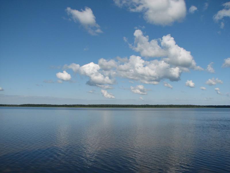 Озеро Біле. Україна-Білорусь