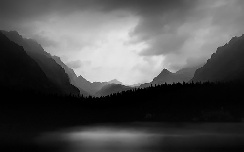 Dark, cloudy lake in the Tatras moutains | by Gael Varoquaux