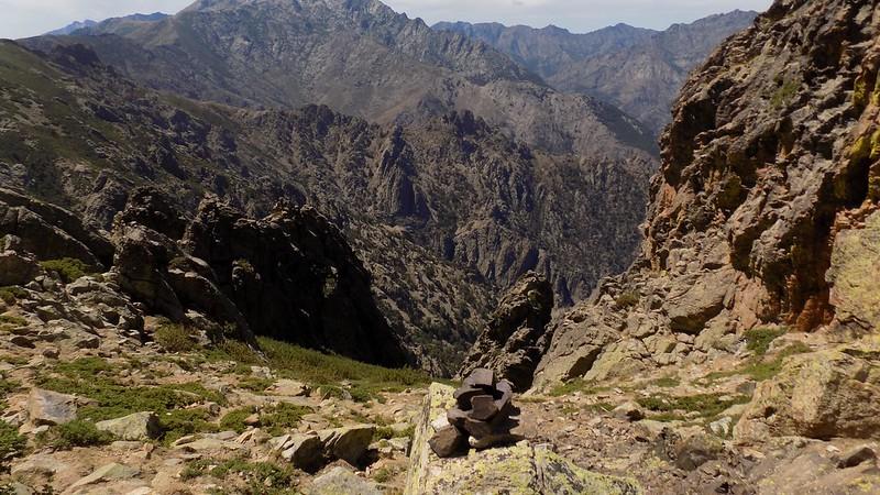Ravin de descente à Vetta di Muru