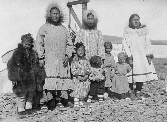 Credit Report Com >> Mackenzie Inuit family on Banks Island, Northwest Territor…   Flickr