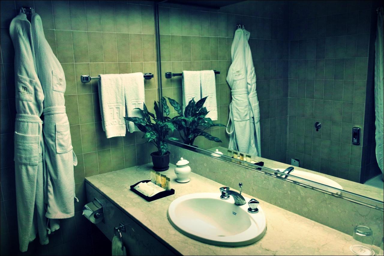 욕실 -'그랜드 라파 호텔 마카오 (Grand Lapa Hotel, Macau)'