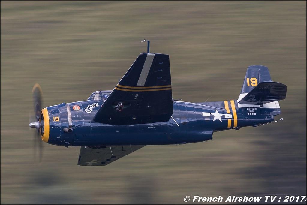 TBM-3R Avenger – HB-RDG 50ans d'Aviation Megeve 2017 - altiport de Megève , Haute-Savoie, Auvergne-Rhône-Alpes , Meeting Aerien 2017