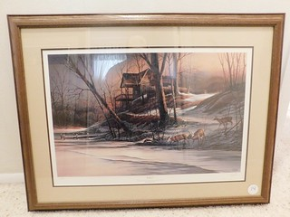 1986 Winter DU print signed | by thornhill3