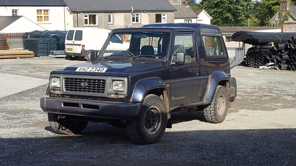 1997 Daihatsu Fourtrak Independent Tdx 28 These Are Extre Flickr