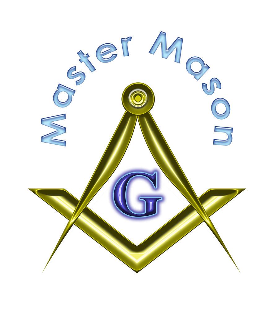 Master Mason In Black Symbol Of A Past Master Mason Flickr