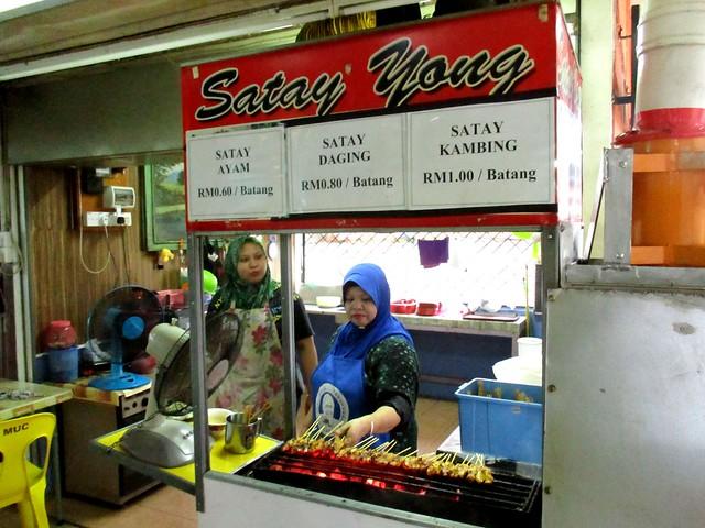 Yong Satay stall, Dewan MUC