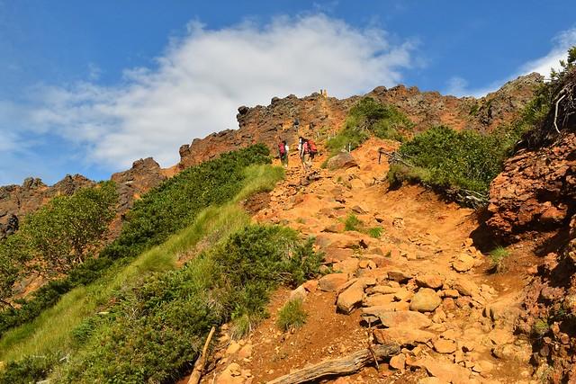 赤岳(八ヶ岳)登山 地蔵尾根ルート