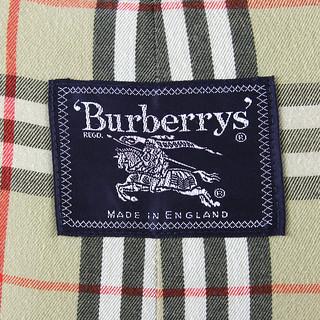 Trench Burberry Vintage Etichetta Anni 80