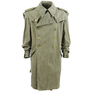 Trench Militare Spagnolo Vintage
