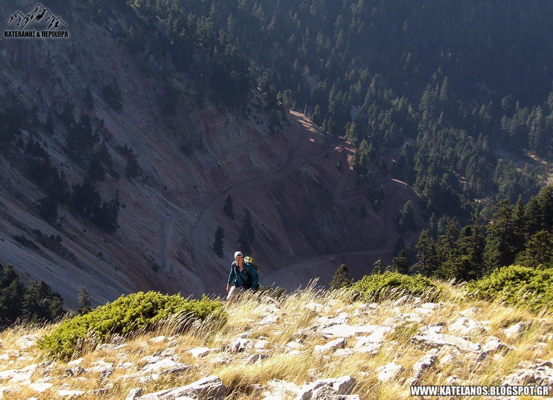 ορειβασια αναβαση παναιτωλικο ορος