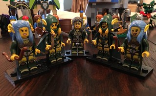 Wood elf warriors | by Ltfalcon - Lego Customs