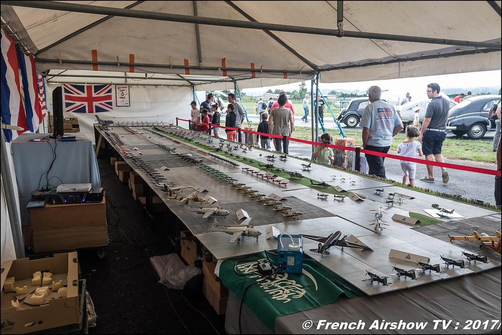 Mondial des patrouilles acrobatique de Richard Catalan - maquettes JPO Aurillac 2017 , Meeting Aerien Aeroclub du cantal 2017