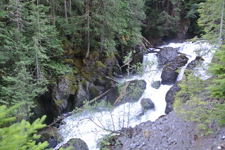 Olympic Mountain Dreams Day 2 - Further up Dosewallips Falls | by Spiral Cage