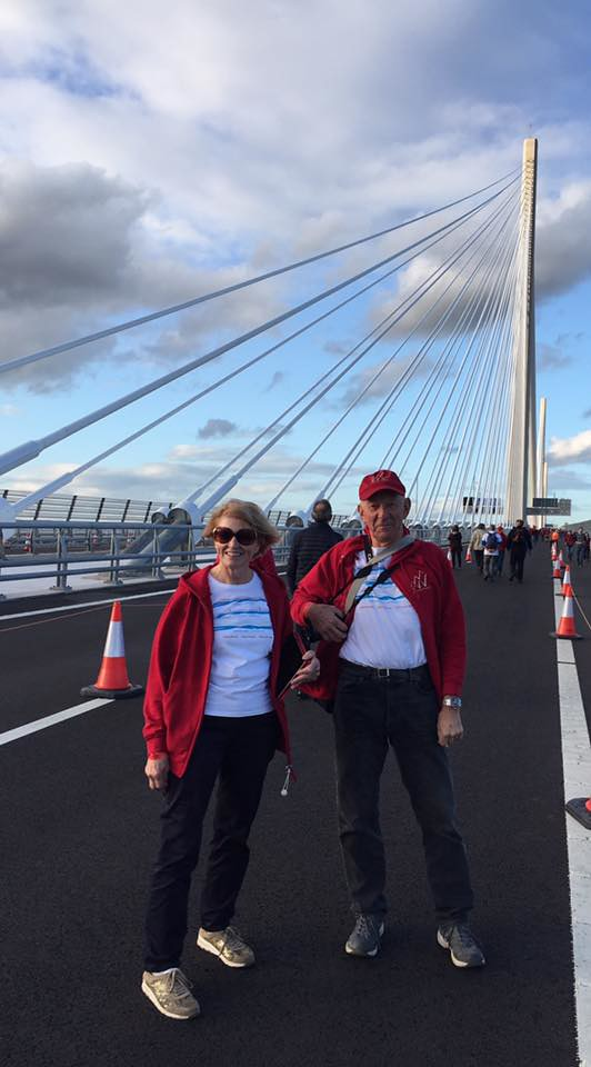Queensferry Crossing walk, 2017