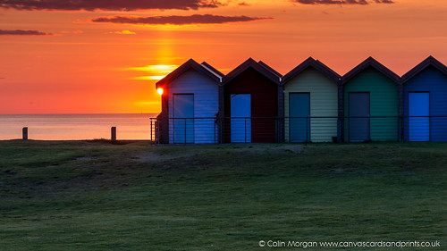 Sunrise at Blyth Beach Huts | by Splendid What