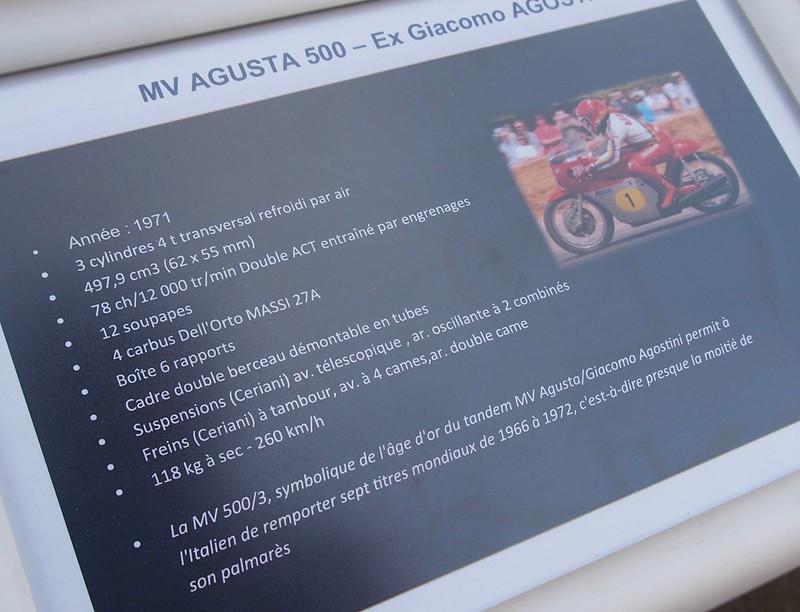 M.V. Agusta 500 Ex Giacomo Agostini 1971 36577065884_35582d0c6b_c