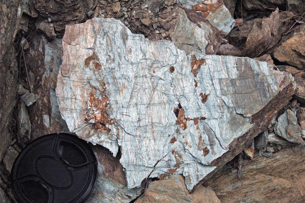 Metamorphic rock formation