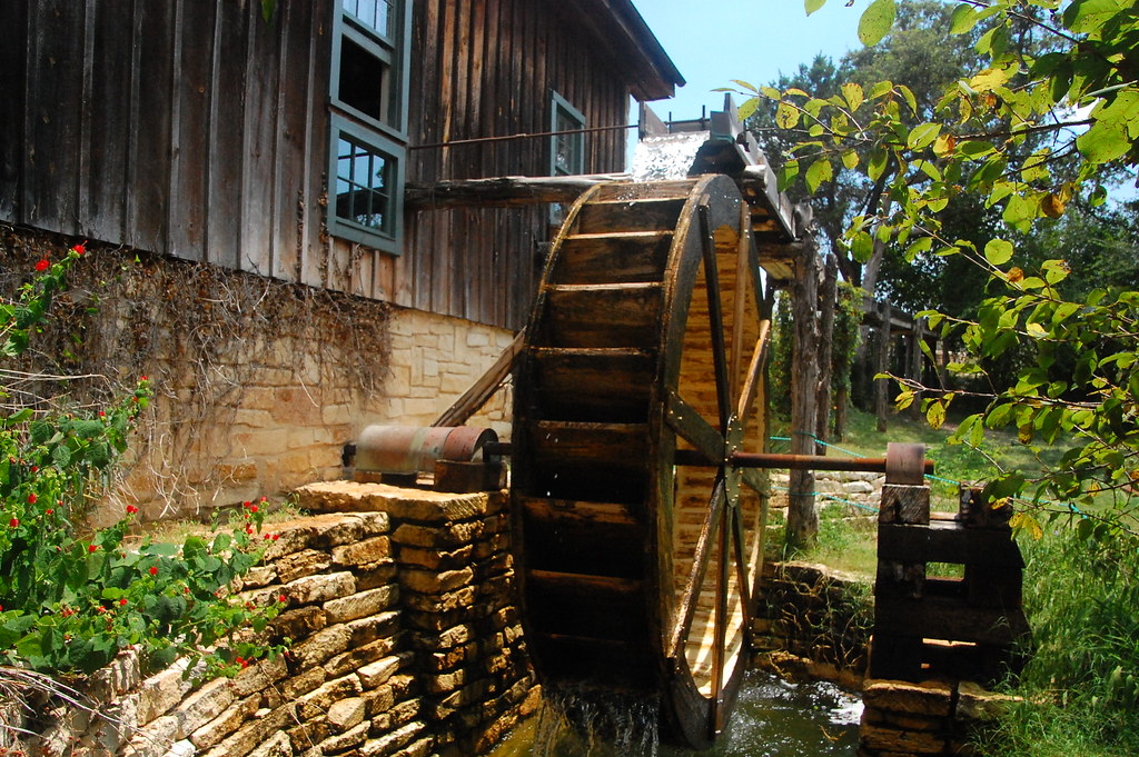 grist mill waterwheel the homestead grist mill is housed i flickr