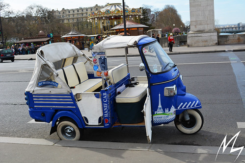 Tuktuk ride in paris | by Madhusudan dv