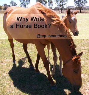 Why Write a Horse Book? @equineauthors