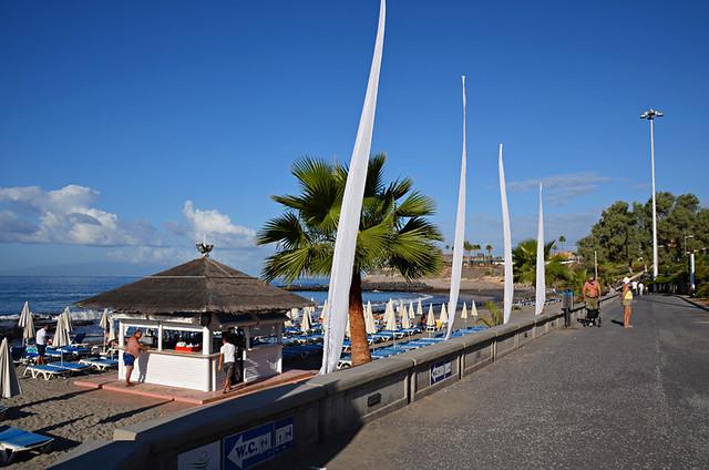 Playa Fañabe, Tenerife
