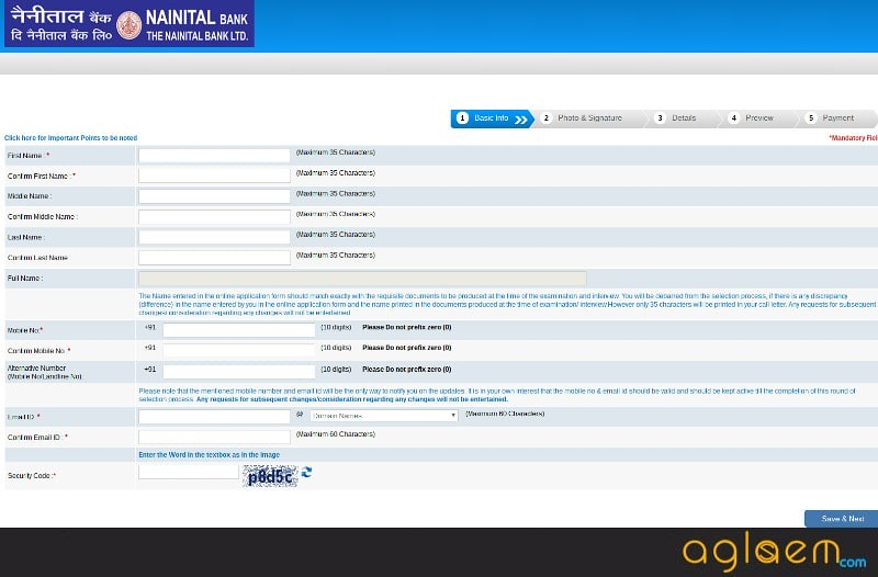 Nainital Bank Recruitment Apply Online 2017