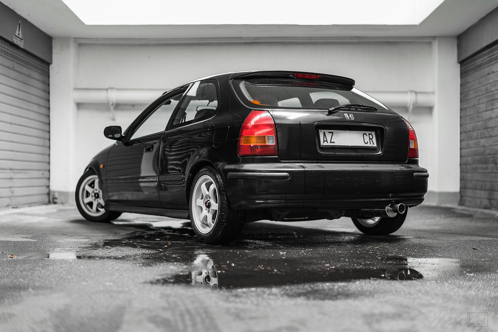 honda civic ej9 few shots before paint job luca rocchi flickr. Black Bedroom Furniture Sets. Home Design Ideas