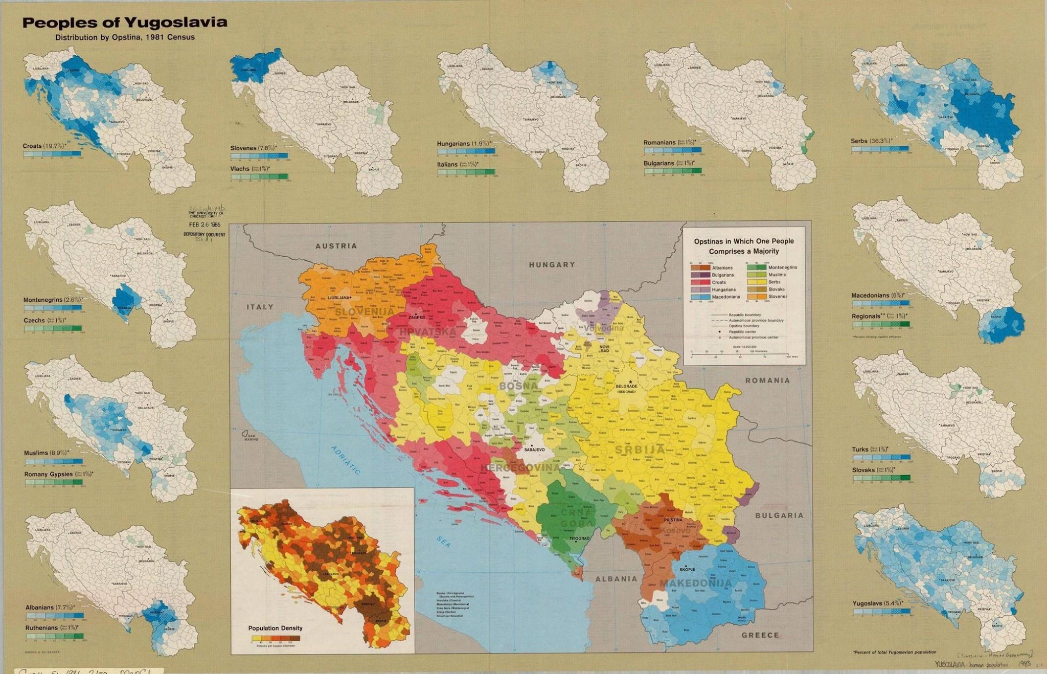 Ethnic map of yugoslavia 1981 vivid maps ethnic map of yugoslavia 1981 gumiabroncs Choice Image
