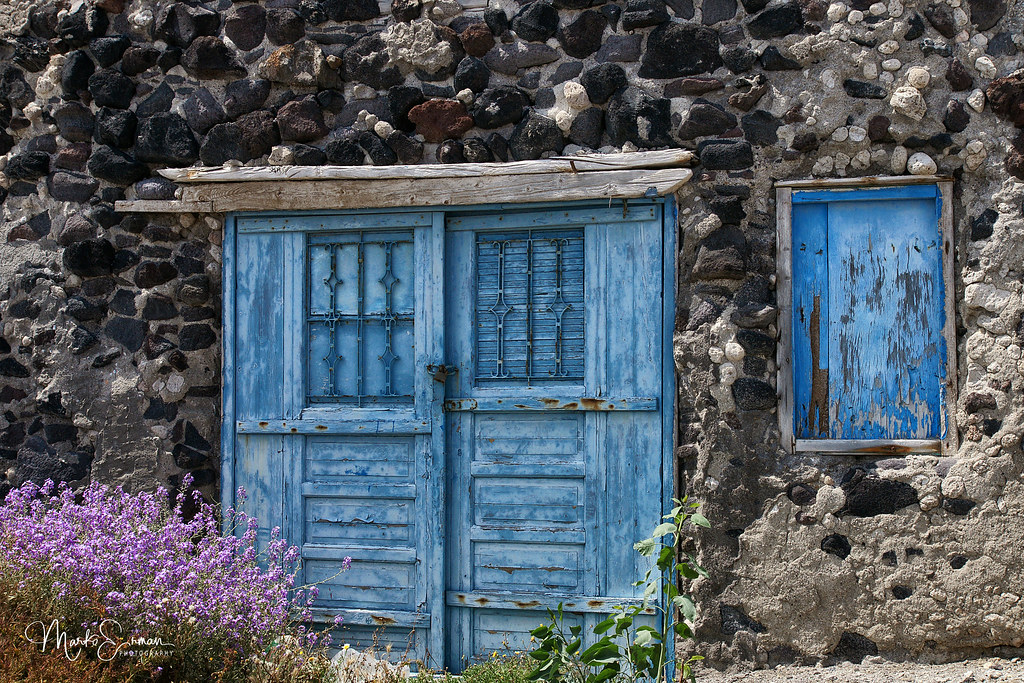 ... Blue door | by marko.erman & Blue door | An interesting old door seen on the Island of Th\u2026 | Flickr