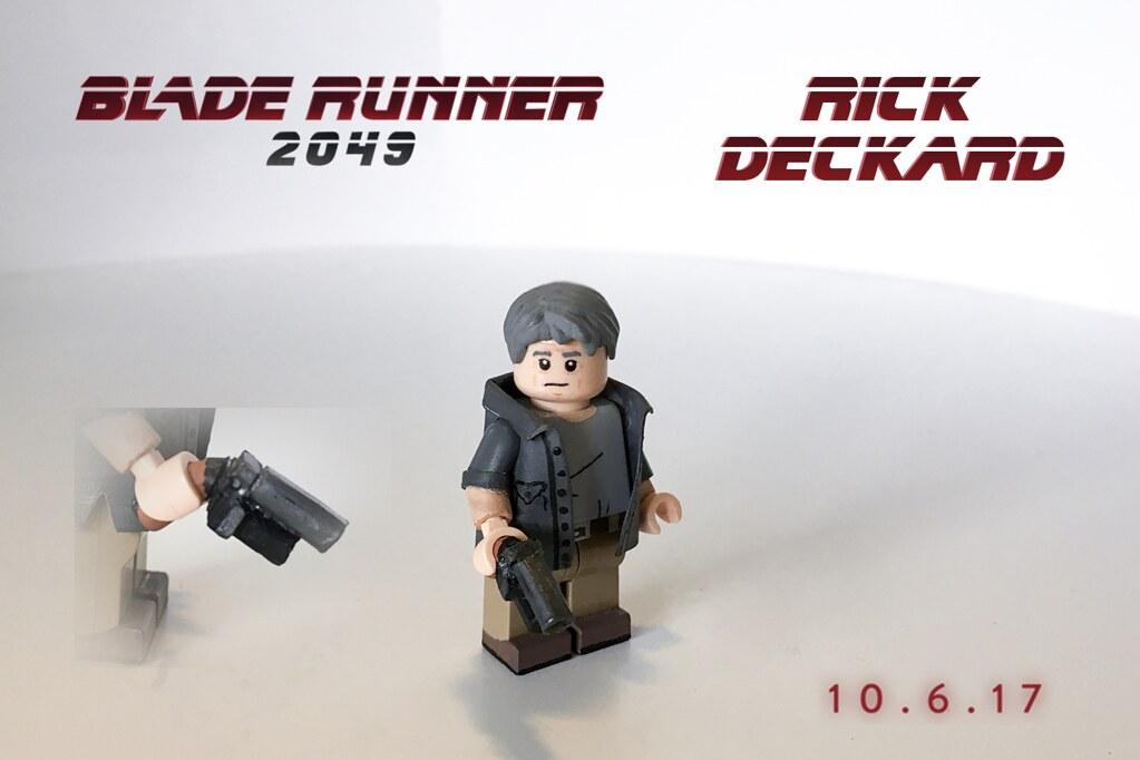 LEGO Blade Runner 2049: Rick Deckard   Third figure for this…   Flickr