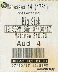 The Big Sick ticketstub