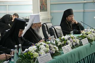Итоги конференции, возглавленной митрополитом Святогорским Арсением