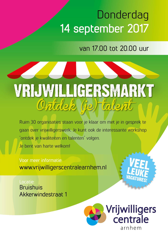 poster vrijwilligersmarkt
