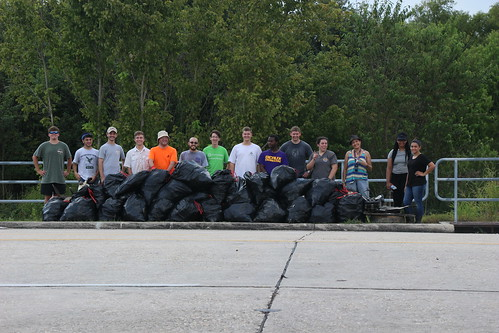 42 Bags of Trash by the Road, 42 Bags of Trash