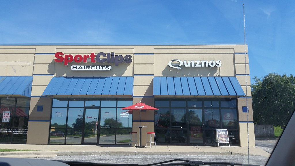 Sport Clips Haircuts And Quiznos Springfield Missouri Flickr