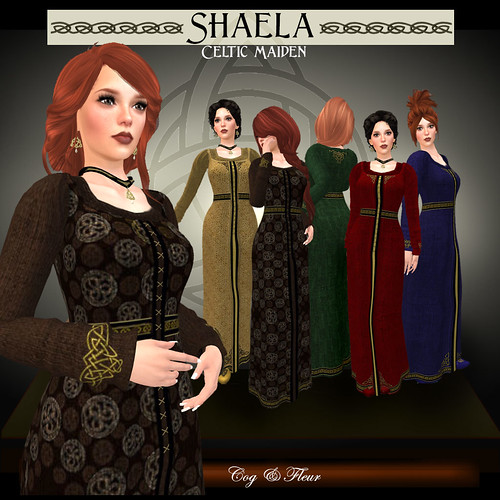 Shaela Celtic Maiden | by CogandFleur