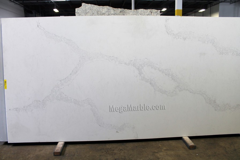 quartz countertop slabs sparkling quartz caesarstone calacatta nuvo quartz countertops slab by exotic natural stone slabs collection flickr