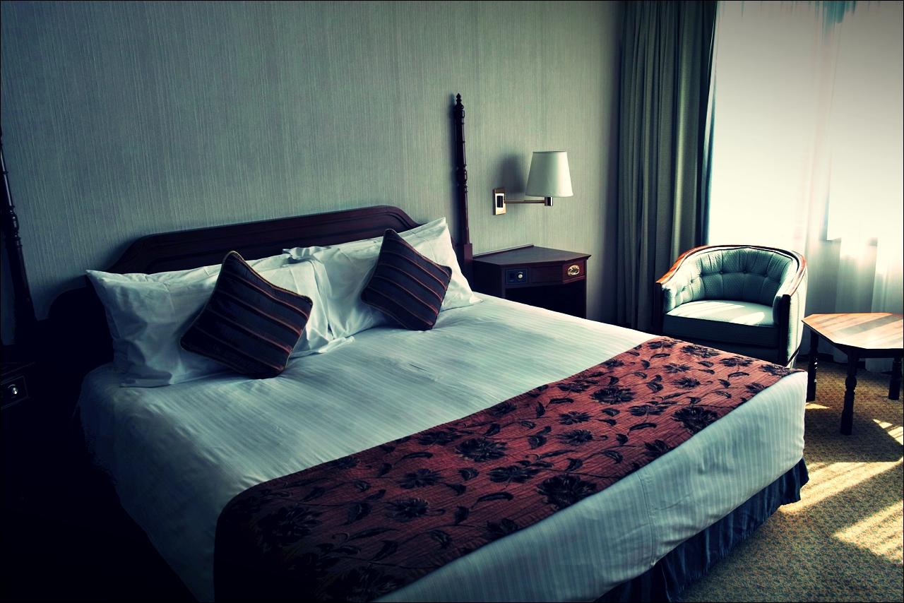 침대-'그랜드 라파 호텔 마카오 (Grand Lapa Hotel, Macau)'