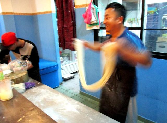 Restoran Muhajirin noodle chef 2