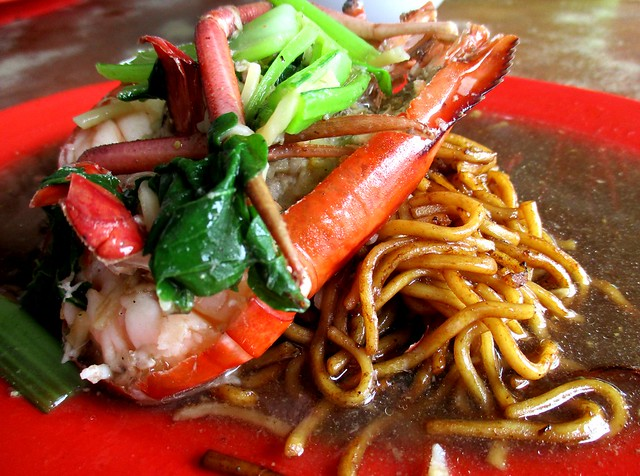 Hua Kee Foochow fried noodles, with prawn 2