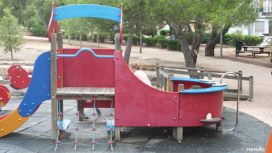 parque infantil la cañada