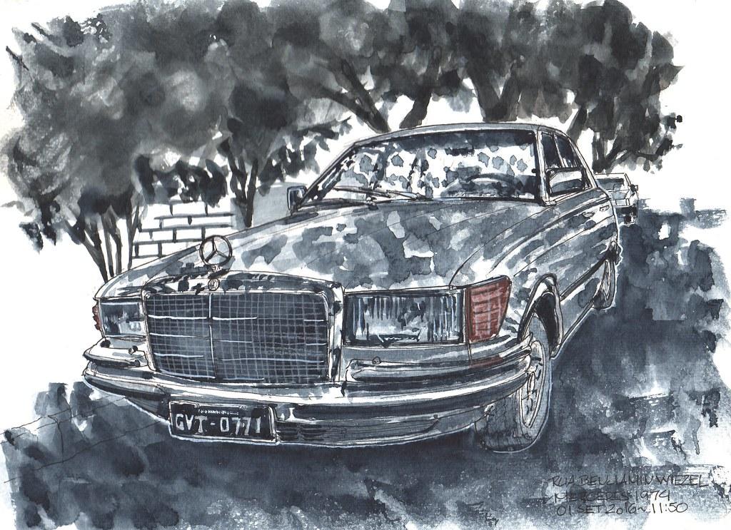 ... Mercedes Benz 1974 | By Flávio Ricardo 2012