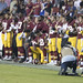 Washington Redskins National Anthem Kneeling