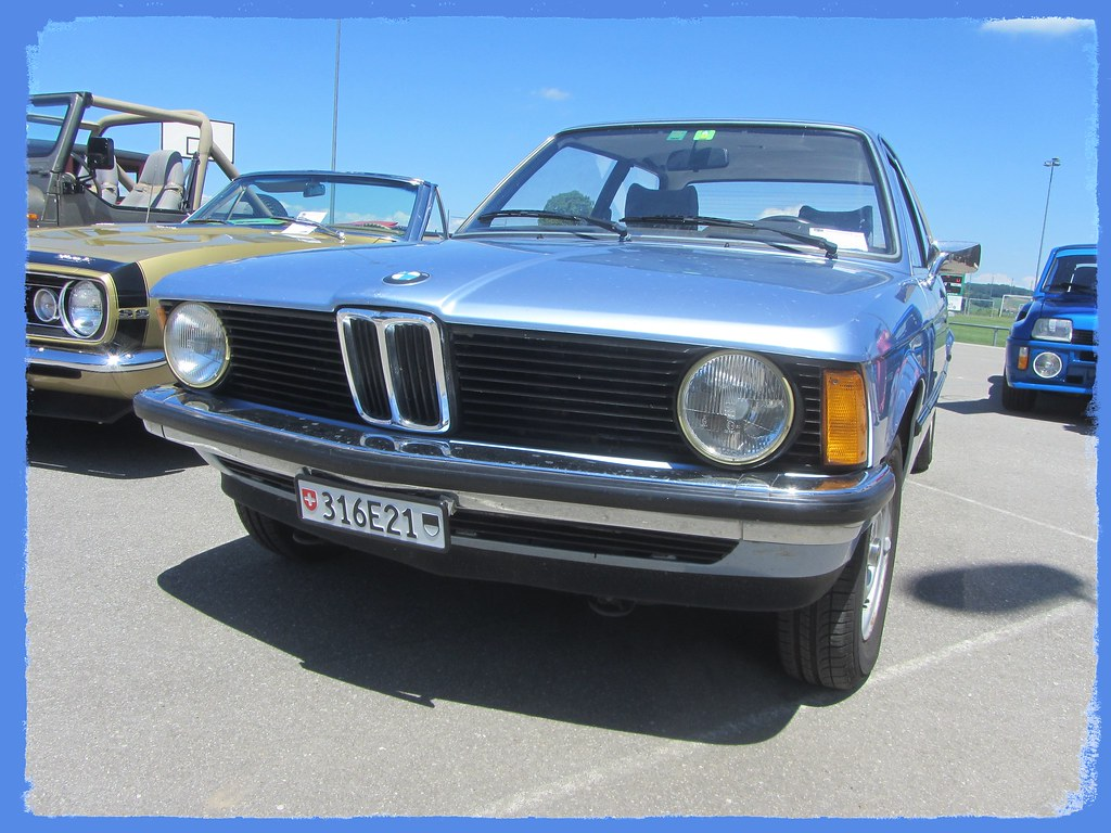 BMW 316 (E21), 1978 | 6ème rencontre Oldtimers, Vuisternens-… | Flickr
