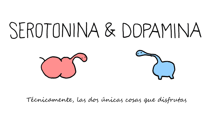 Serotonina & Dopamina | © Toothpaste for dinner.